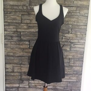Cynthia Rowley little black dress with pockets